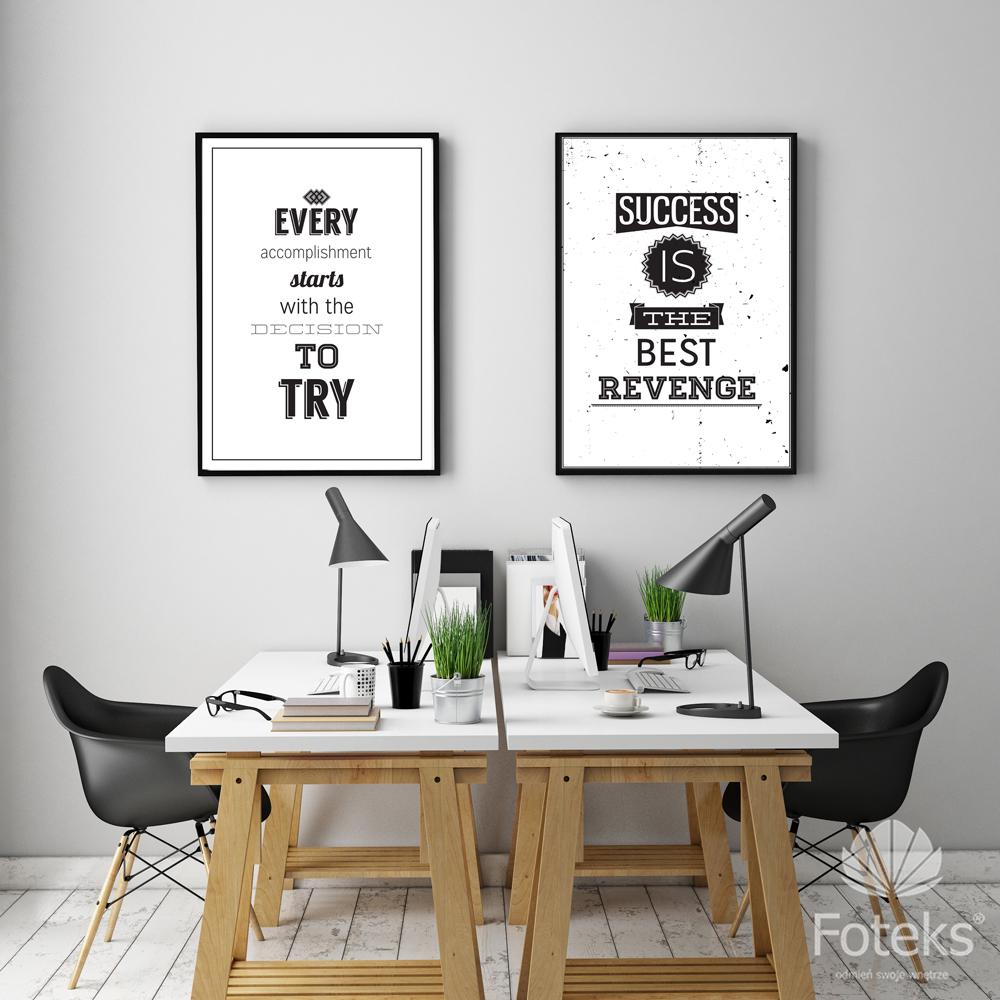 Idealne Do Biura Plakaty Motywacyjne